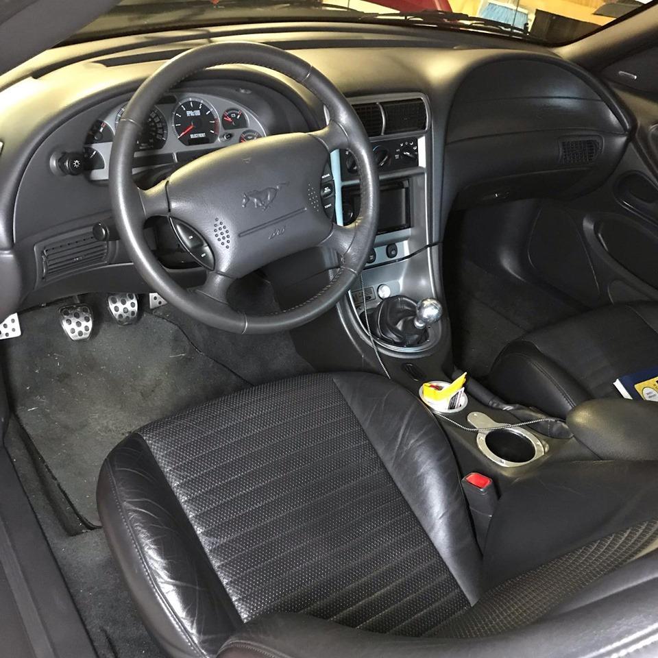 2003 Mach 1 Torch Red interior.jpg