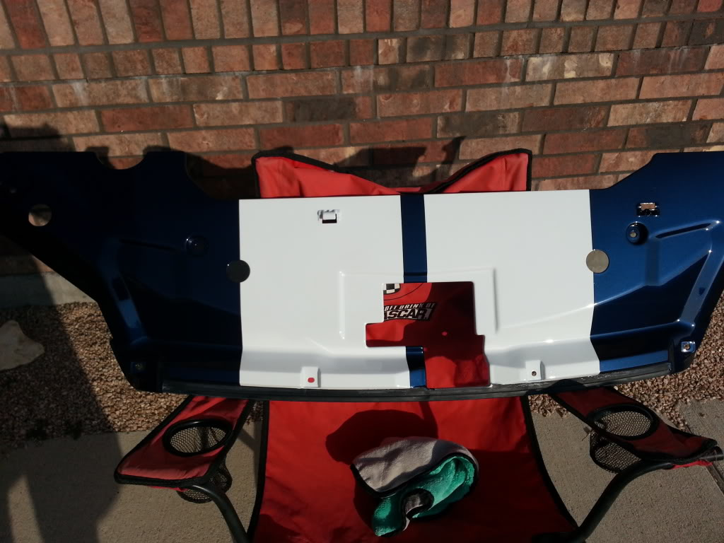 Painted My Radiator And Fuse Box Cover 2011 Gt500 20130414 182408 Zpsc9f6669c