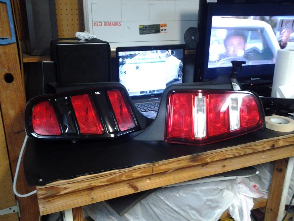 2011 2012 Tail Light Mod Svtperformance Com