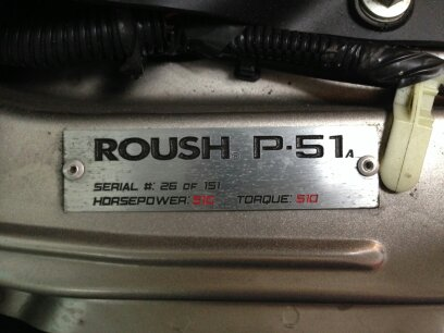 Rare P51 A Roush Mustang For Sale Svtperformance Com