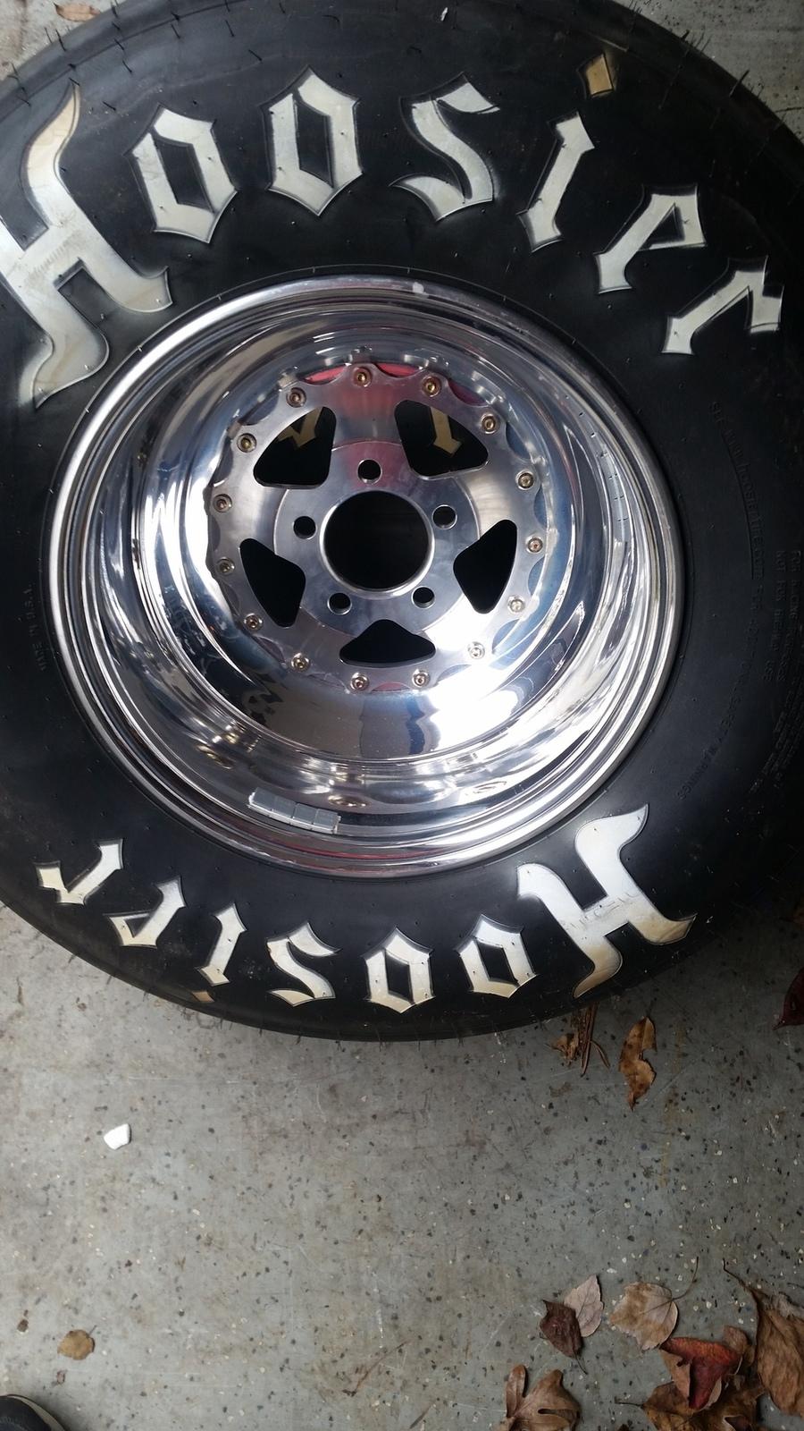 "0 Apr Car >> New (2) Weld Racing 15x10"" Aluma-star 2.0 rims w/Hoosier 10.5/30.0R-15s | SVTPerformance.com"