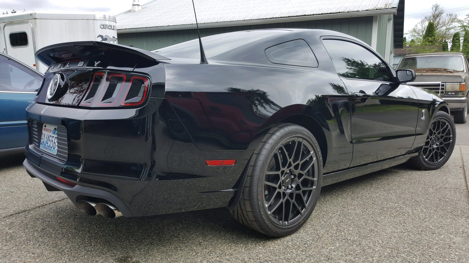 For Sale: 2014 Black Shelby GT500 1,025 Miles ...