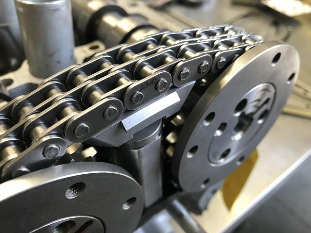 Coyote Dual Roller Secondary Timing Chain & Sprocket kit