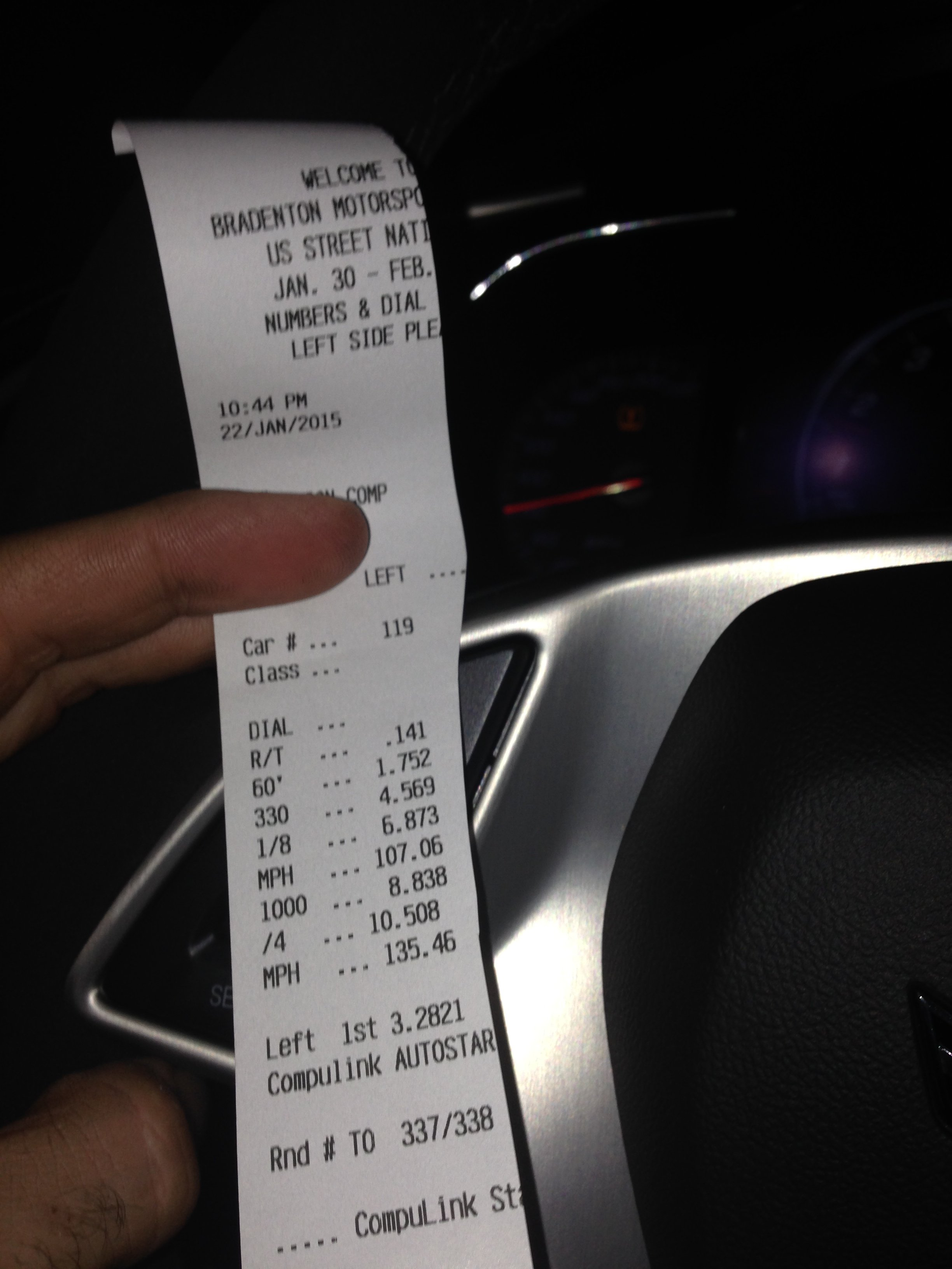 FastProms C7 Z06 goes 10 5@136 with stock boost, E85, mild bolt ons