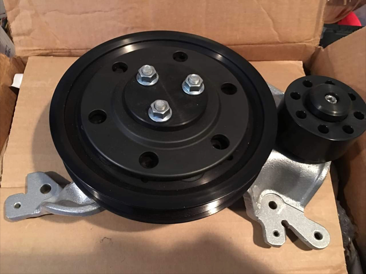 WTB: Custom Caged 4lb Lower Crank Pulley | SVTPerformance.com