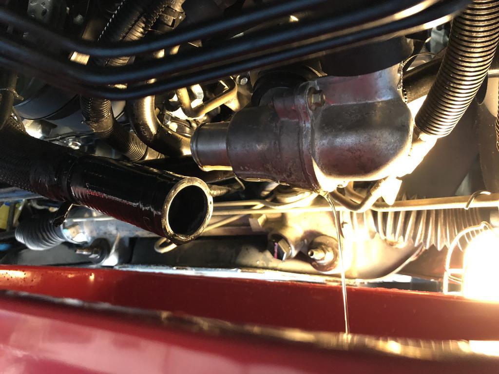 Coolant Drain Flush Fill And Oil Change Svtperformance Com