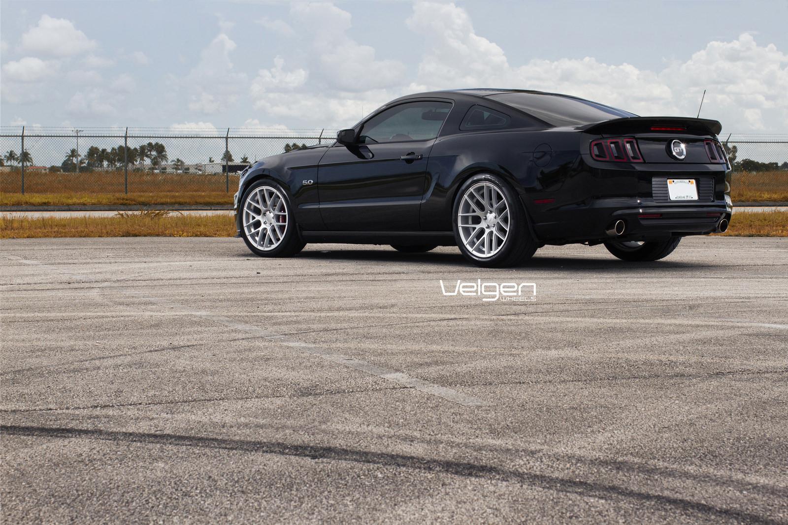 Black Mustang Gt Velgen Wheels Vmb7 Svtperformancecom