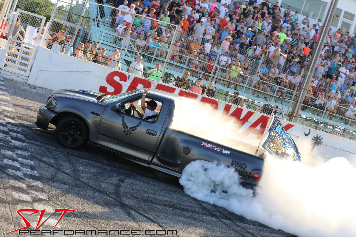 10th Annual Svtperformance Burnout Contest Mustang Week 2017