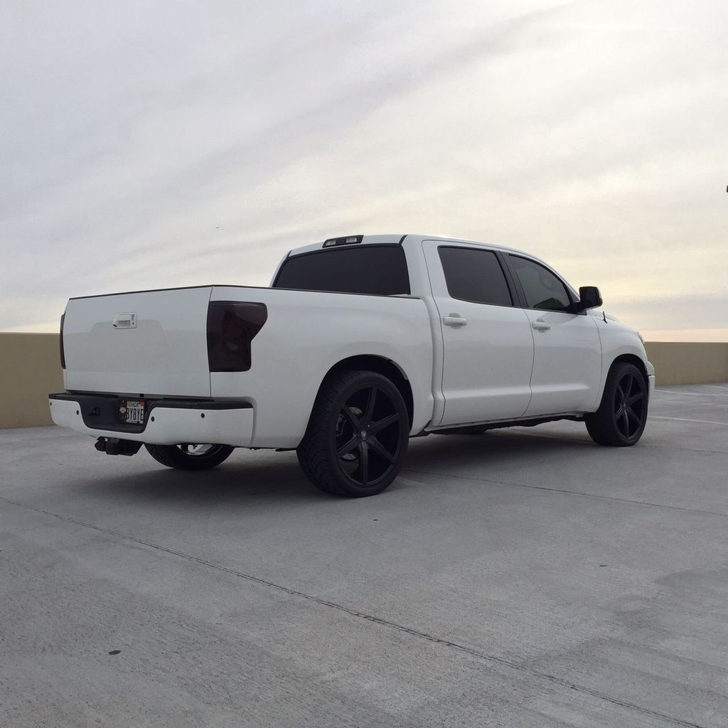 2012 Toyota Tundra Platinum Crewmax 2WD Lowered On 24 Inch