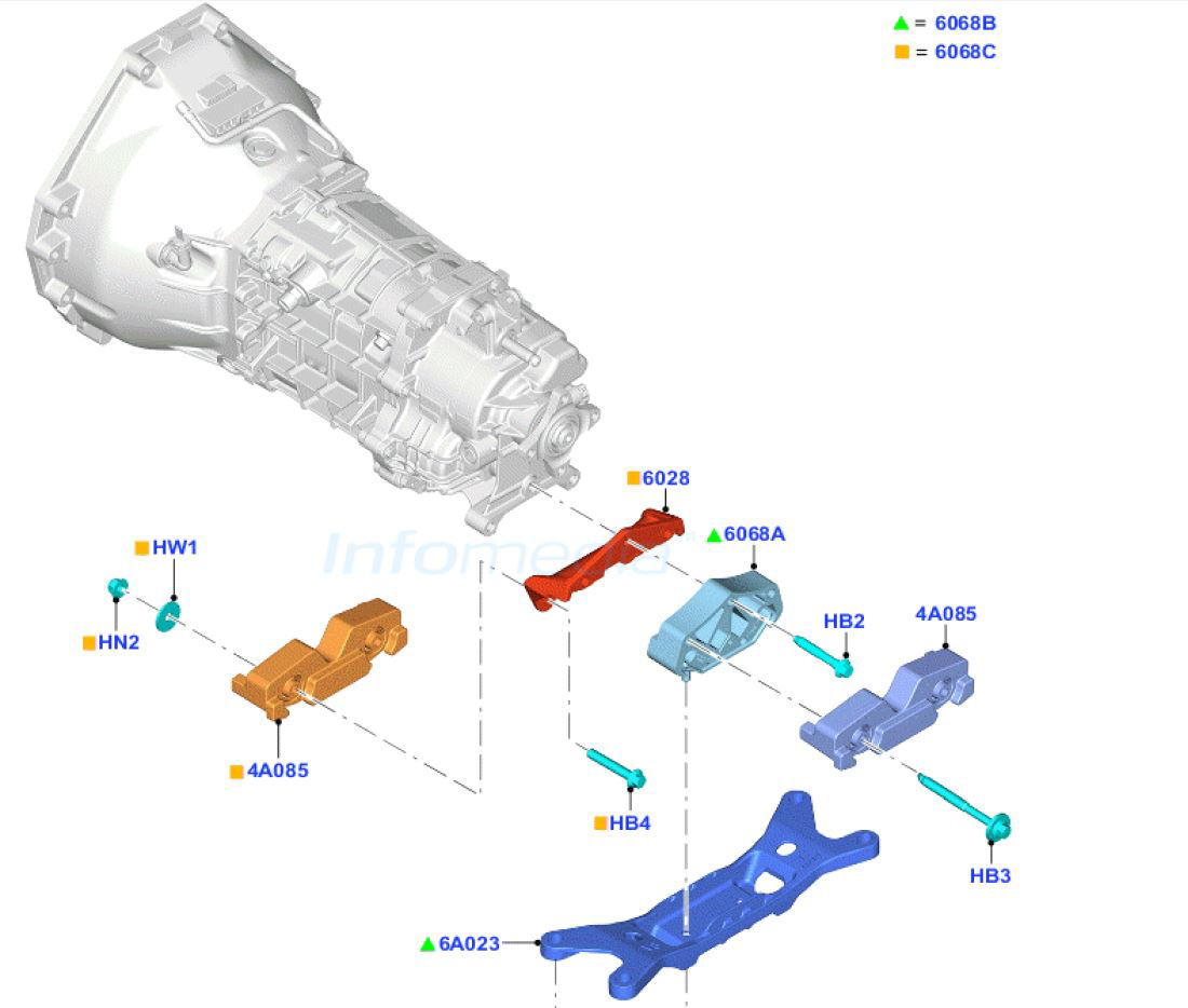 Gt350 Tremec Tr3160 Transmission And Company Have Arrived Diagrams Mt82 Tr316020ford20service20part20photo