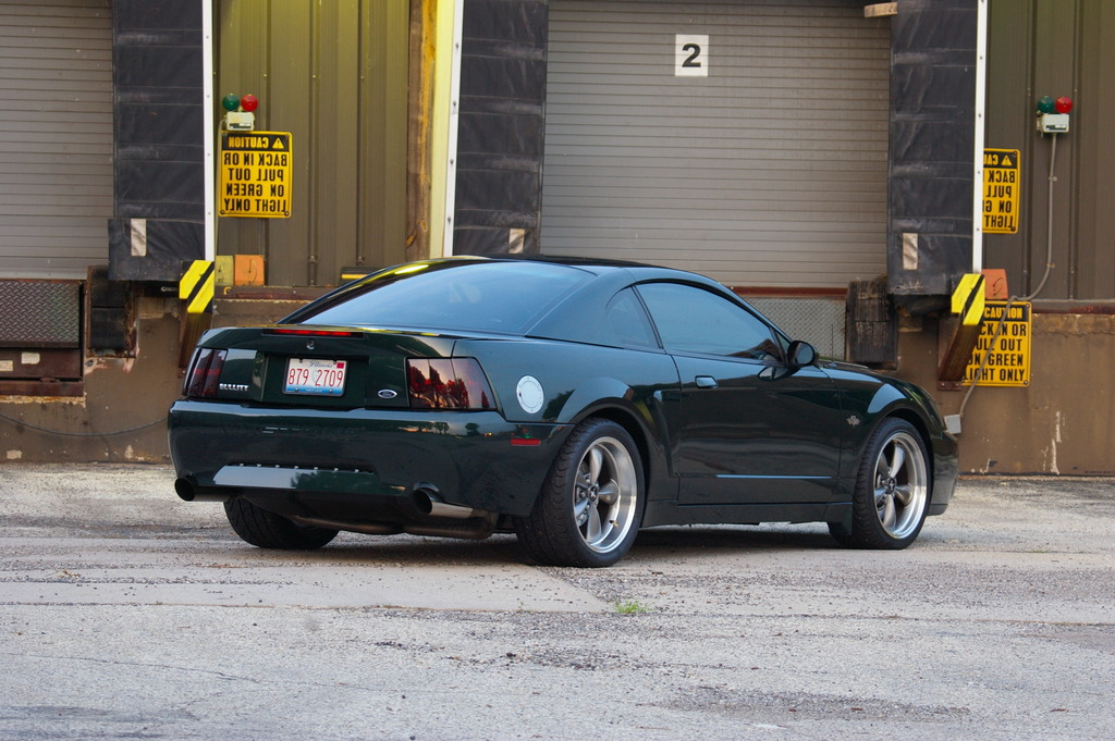 Bullitt Highly Modified Svtperformance