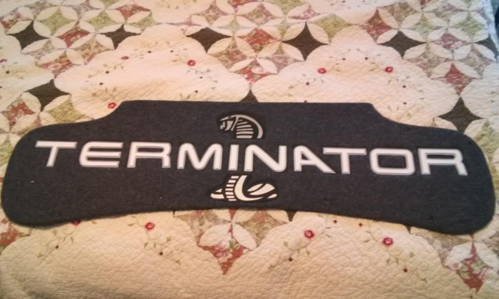 Terminator Cobra Trunk Liner