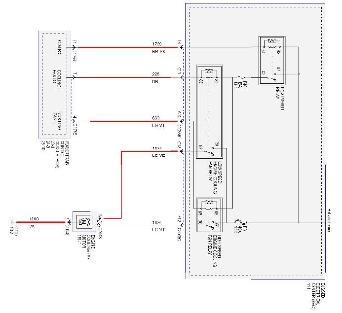 overheating fan not running svtperformance com rh svtperformance com Ceiling Fan Wiring Blue Wire 3 Speed Fan Switch Wiring Diagram
