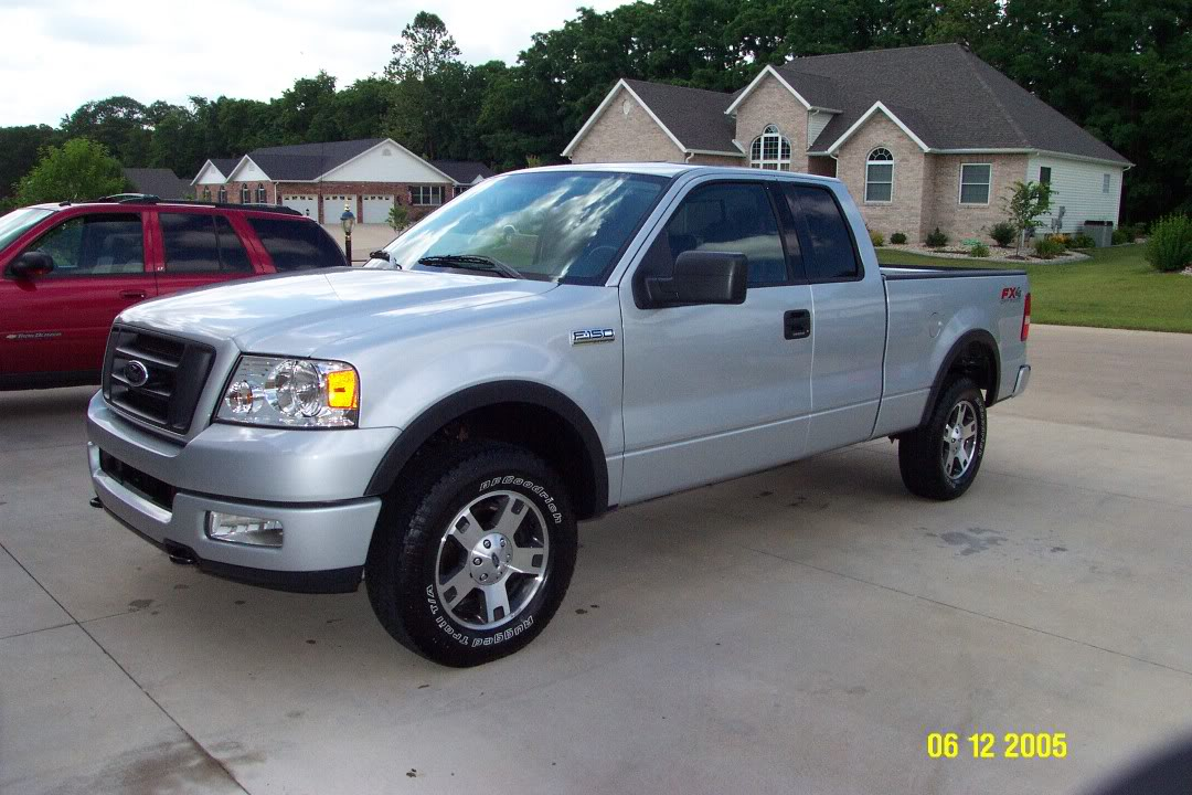 2004 ford silver fx4 cab 150 ext svtperformance