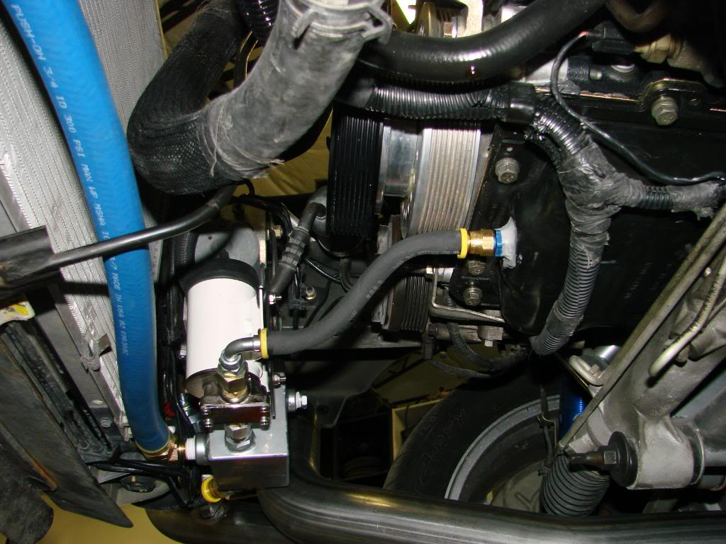 Got any pics of where you installed your oil scavenge pump's