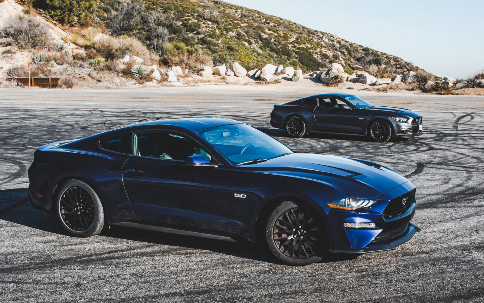 2017 Vs 2018 Mustang >> 2017 Vs 2018 Mustang Comparing The Old S550 And The Refresh