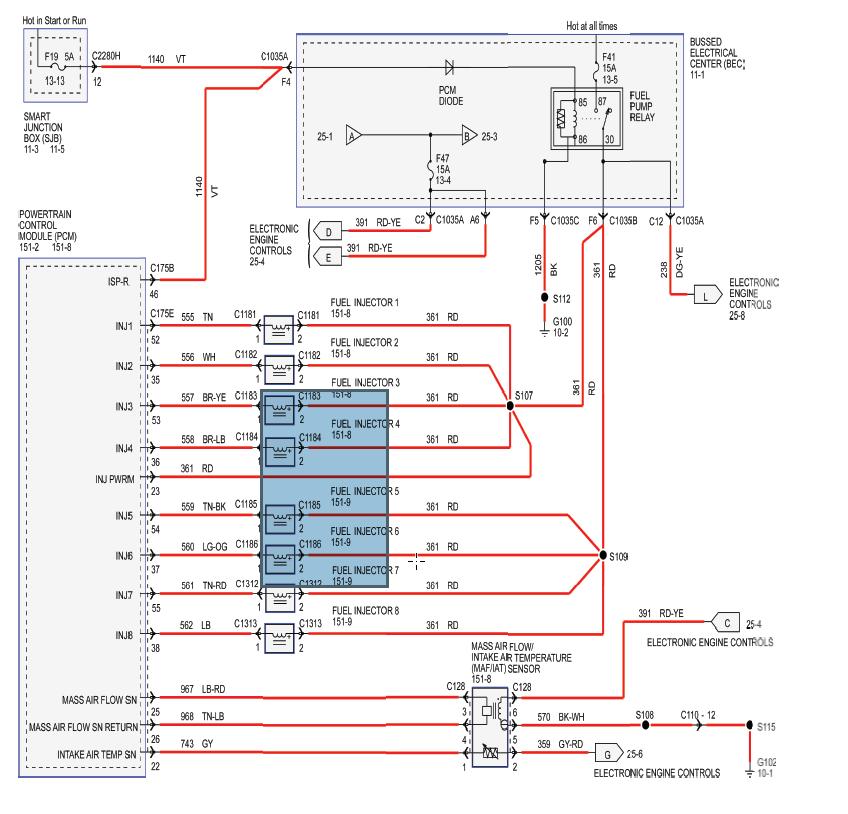 2008 GT500 wiring diagram | SVTPerformance.com | Gt 500 Wiring Diagram |  | SVTPerformance.com