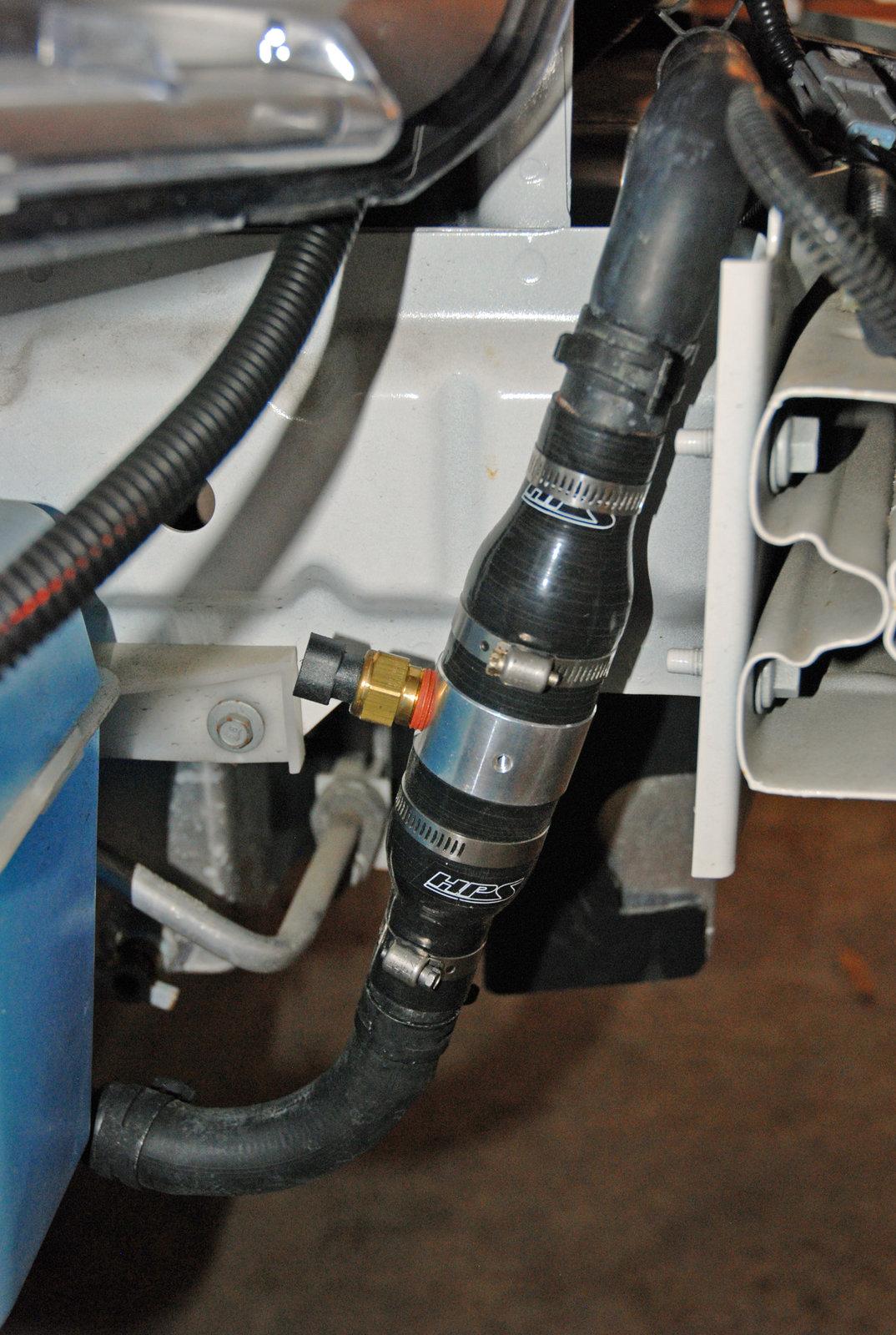 Guage adapter mounted.jpg