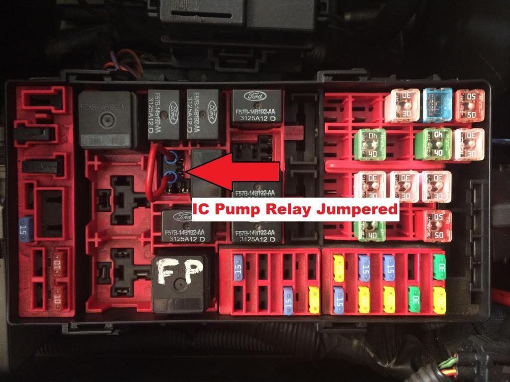 Bad Intercooler Pump :/ How Much Damage??   SVTPerformance com