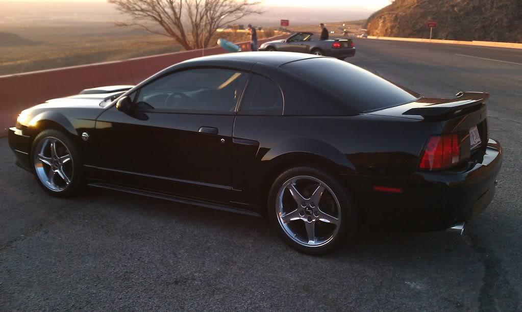 Fs 2004 Black Mustang Gt 40th Anniversary Modded