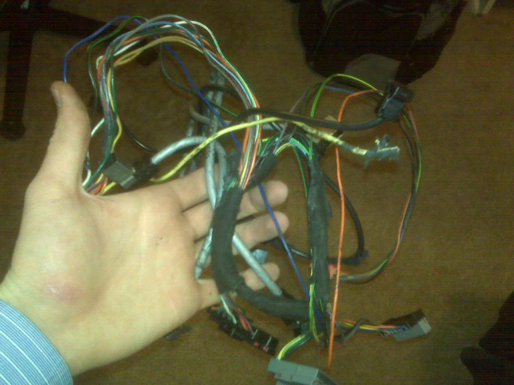 How To Swap A Mach 460 6 Disc Into An Sn95 2001 Wiring Harness Img00213