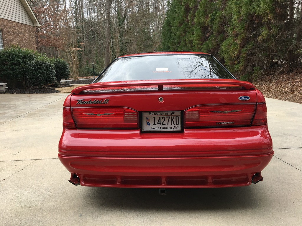 1996 4 6l Svo Supercharged Ford Thunderbird