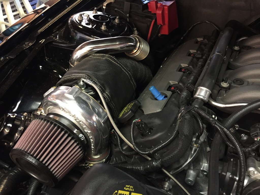 On3 twin turbo install, some thoughts, and PICS  | SVTPerformance com