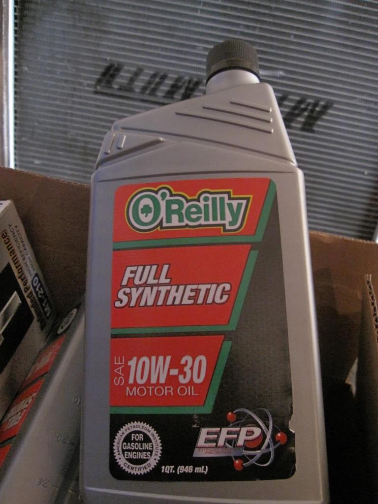 Mobil 1 Oil Filter >> O'Reilly Full Synthetic Motor Oil *** | SVTPerformance.com