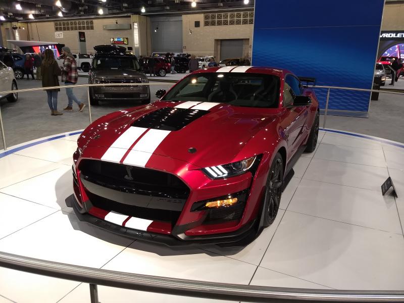 Philly Auto Show 2020.Red Hot Metallic At Philadelphia Auto Show Svtperformance Com