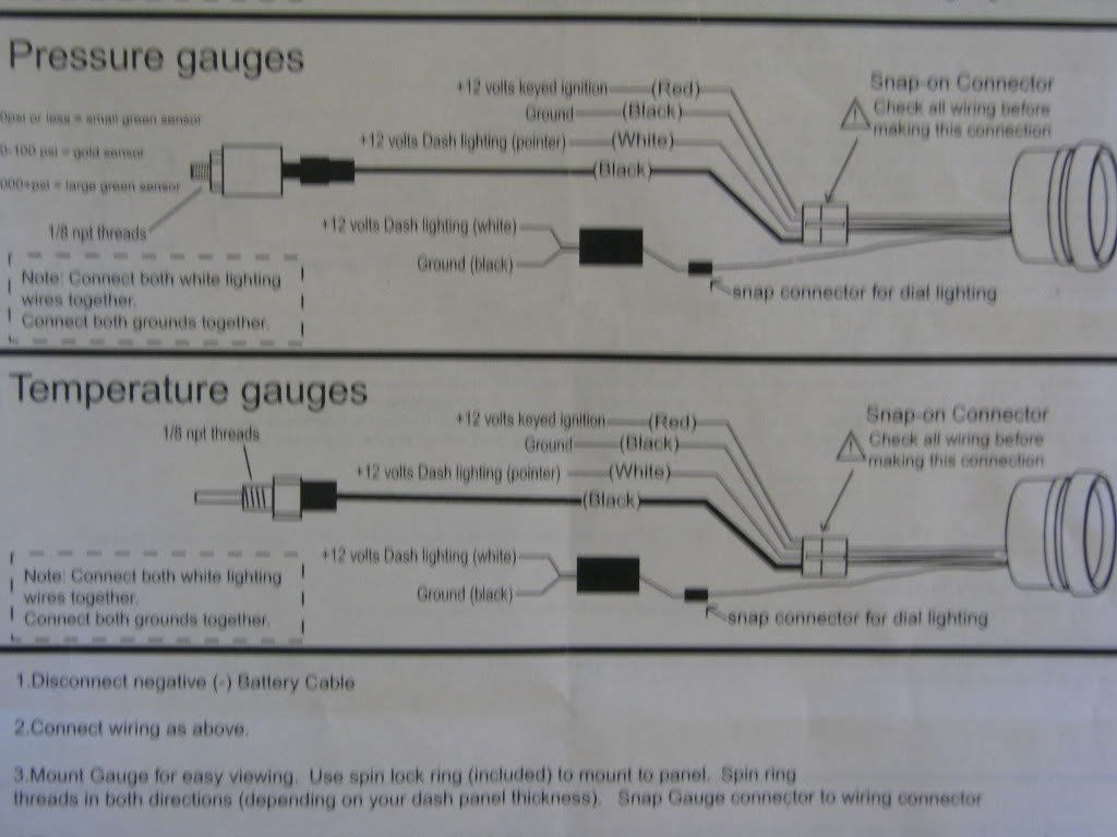Water Gauge Wiring Diagram Simple Page 12 Volt Ammeter Library Amp Its Here How To For