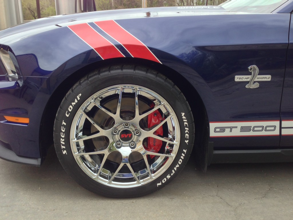 Anyone Have Pictures Of White Wall Tires On A Mustang