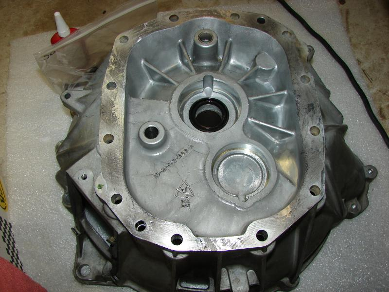 T45 source front cover and quicktime bellhousing install