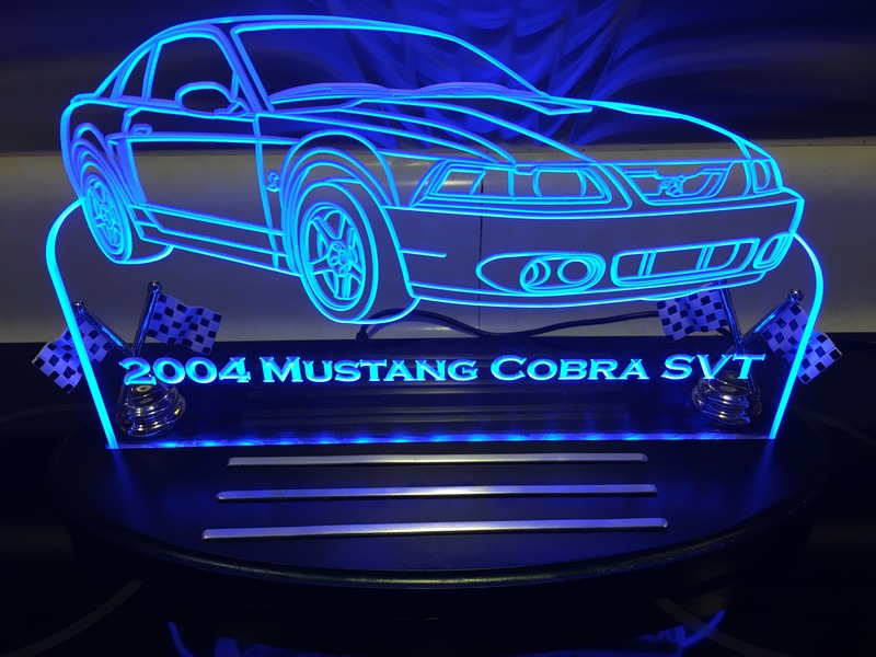 Lighted Acrylic 2004 Mustang Cobra SVT | SVTPerformance com