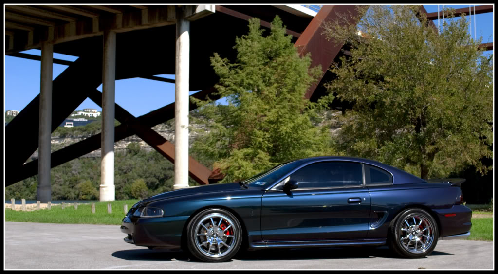 Pics of Rio Red SN95 Cobras with 18s | Sn95 mustang