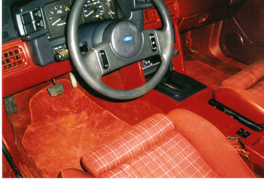 Nice 1989 Scarlet red Mustang GT in W.V | SVTPerformance.com