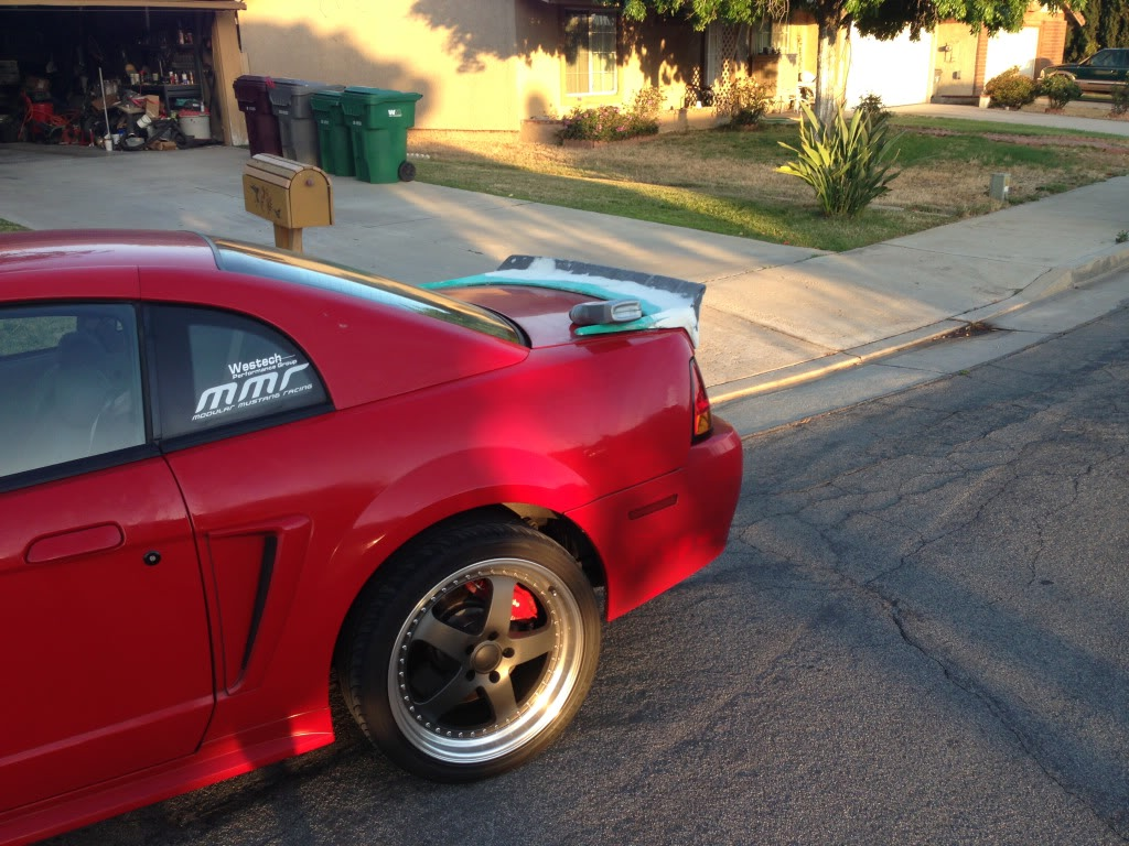 Nascar Style Spoiler Mustang