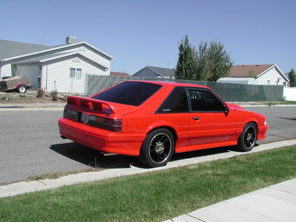 Fs 1993 Svt Cobra 1522 Vibrant Red Black Interior Svtperformance Com