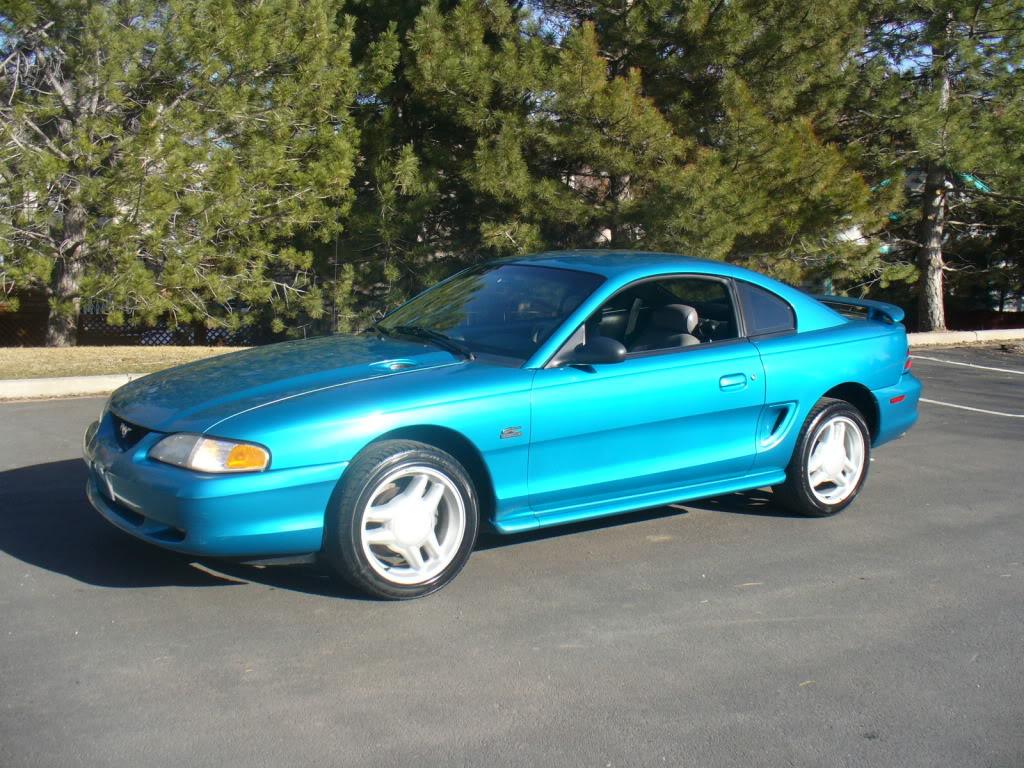 1994 Mustang Gt Teal 5 Speed Svtperformance Com