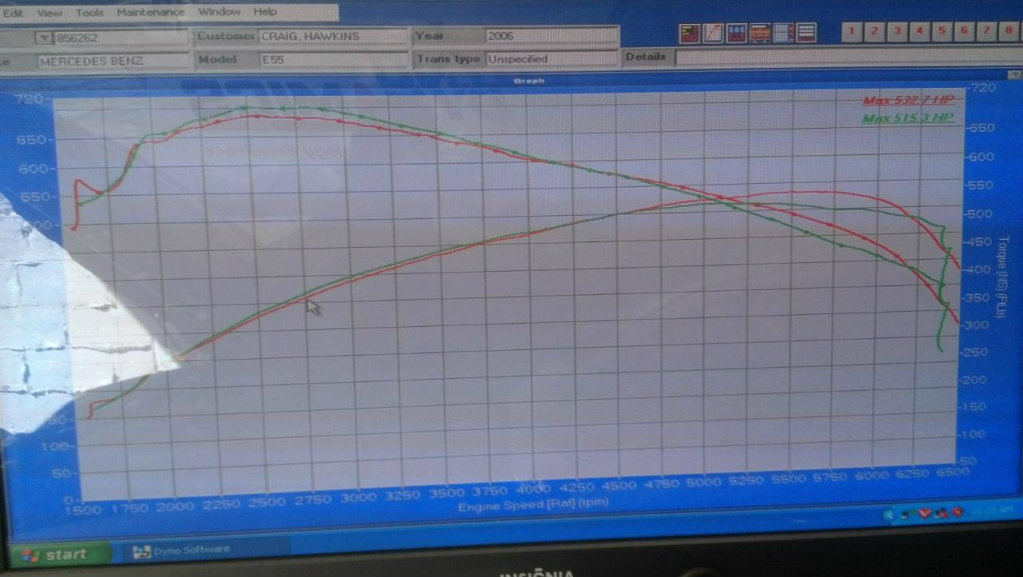 E55 AMG on E85/Meth   SVTPerformance com
