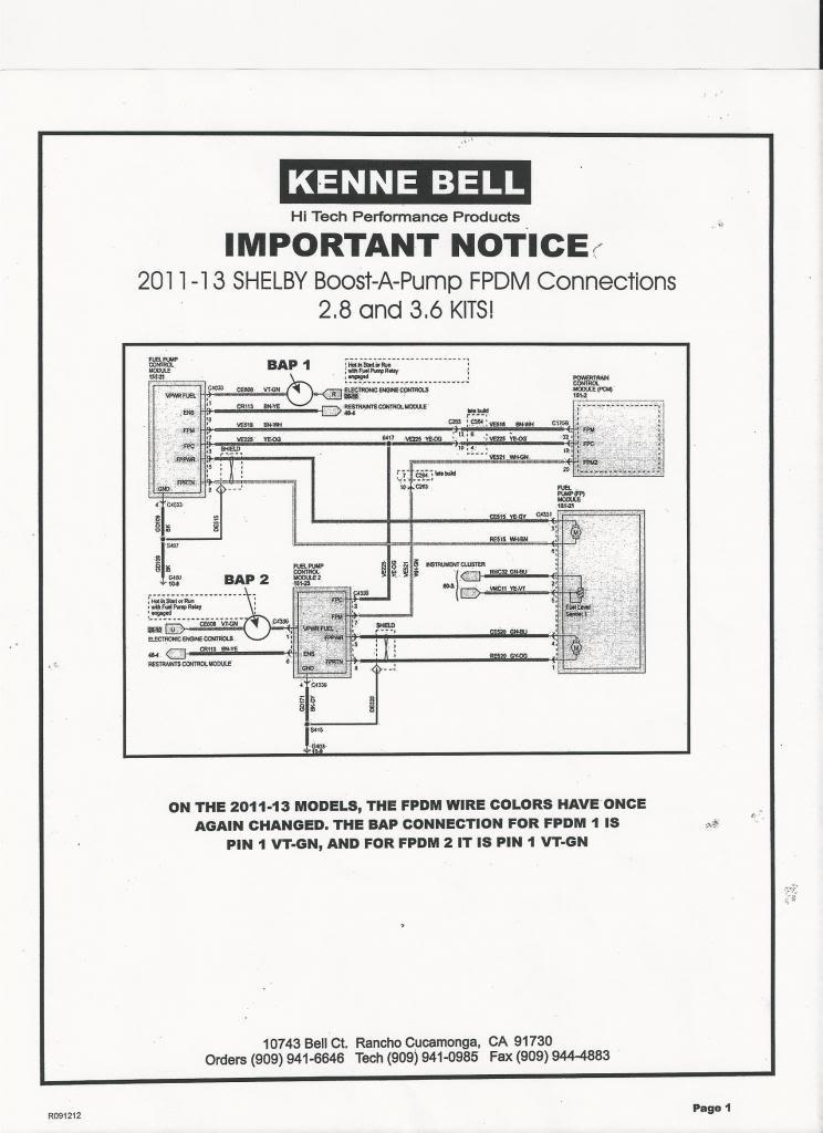boost-a-pump install on 2011 gt500 | SVTPerformance.comSVTPerformance.com