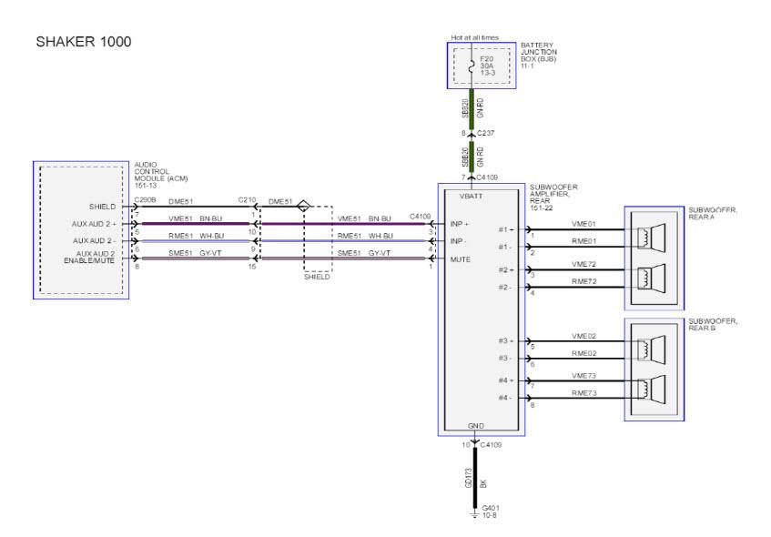 Shaker 1000 Wiring Harness - Wiring Diagram List on