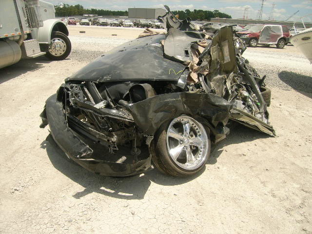 Hundreds Of Wrecked Mustangs For Sale