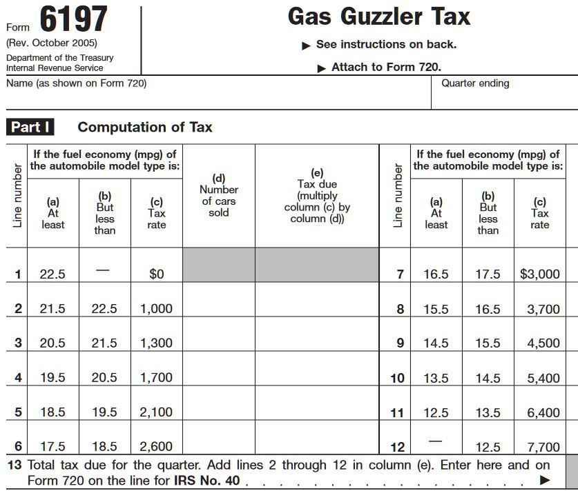 ZZZZZ gas guzzler tax.JPG